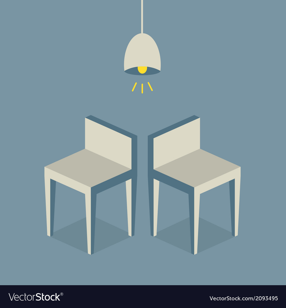 Chairs Flat Design