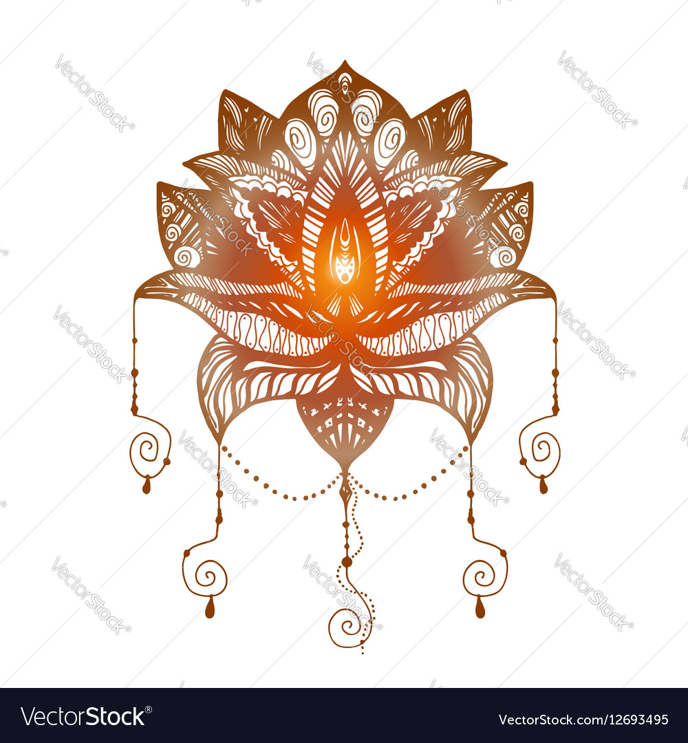 Flower Lotus Tattoo