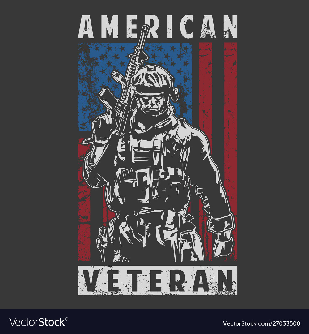 American veteran army