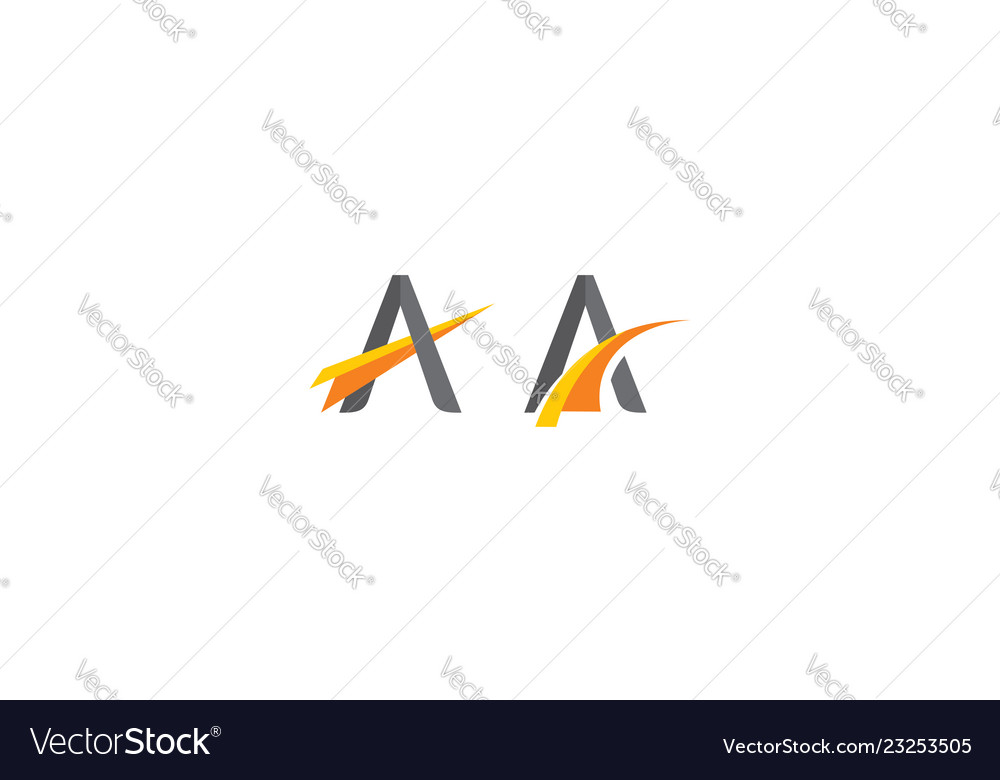 Abstract triangle logo icon