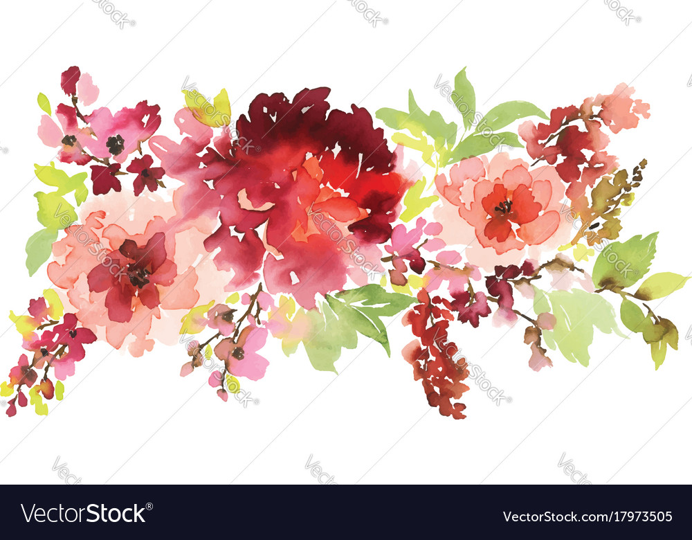 Floral for greeting cards