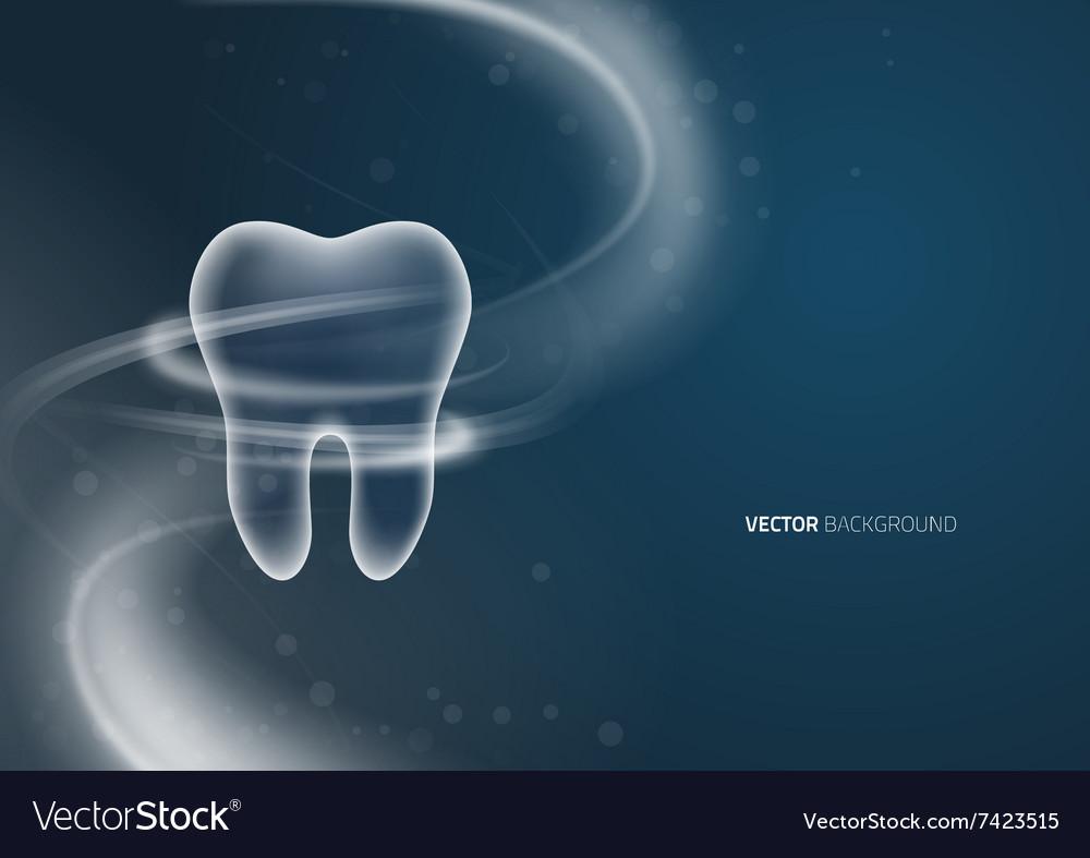 Dental Background Design Royalty Free Vector Image