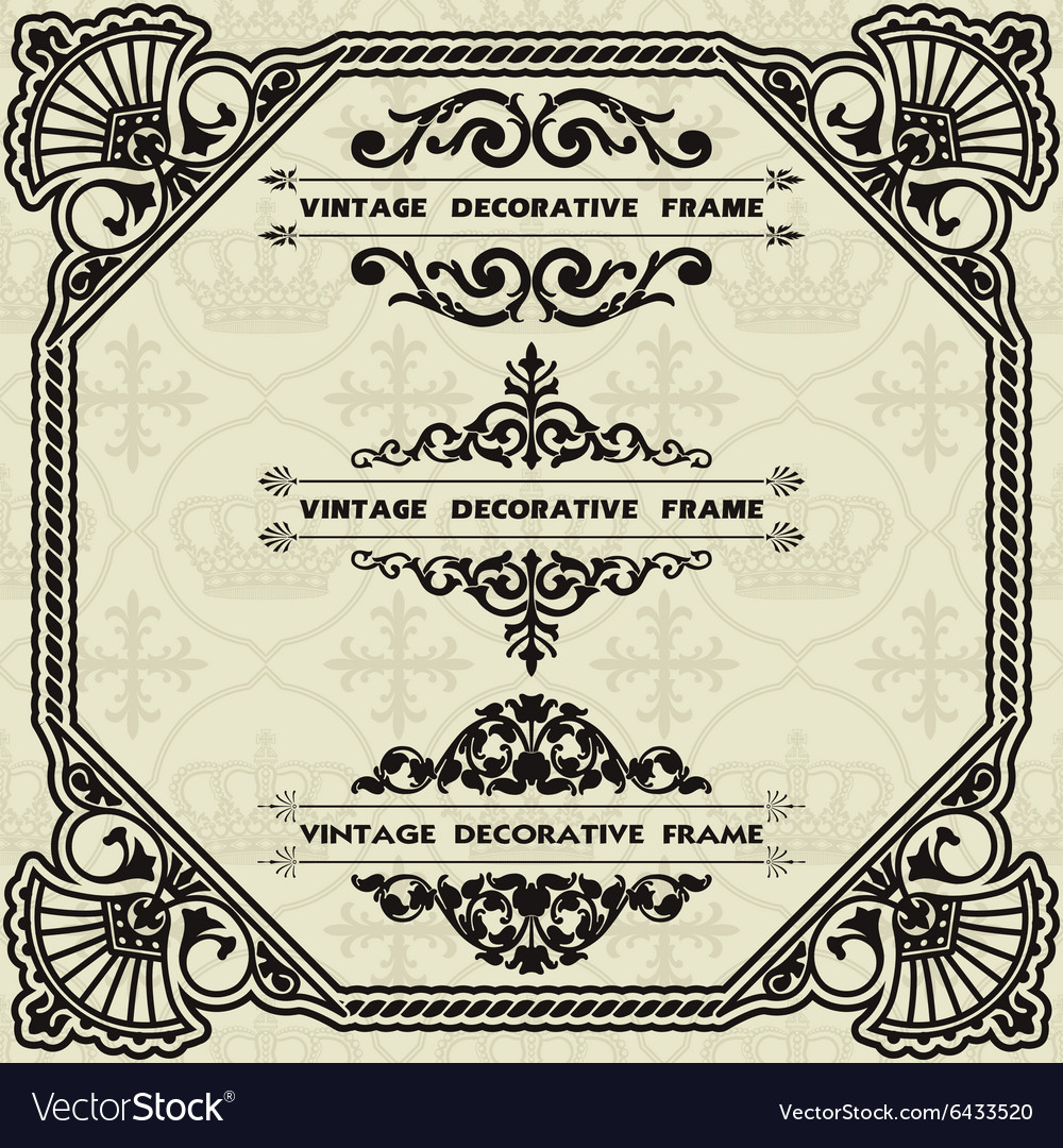 A set of elements for design vector image