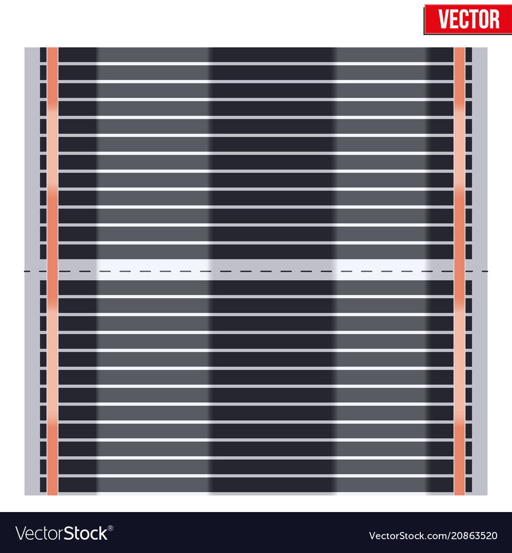 Infrared floor heating system