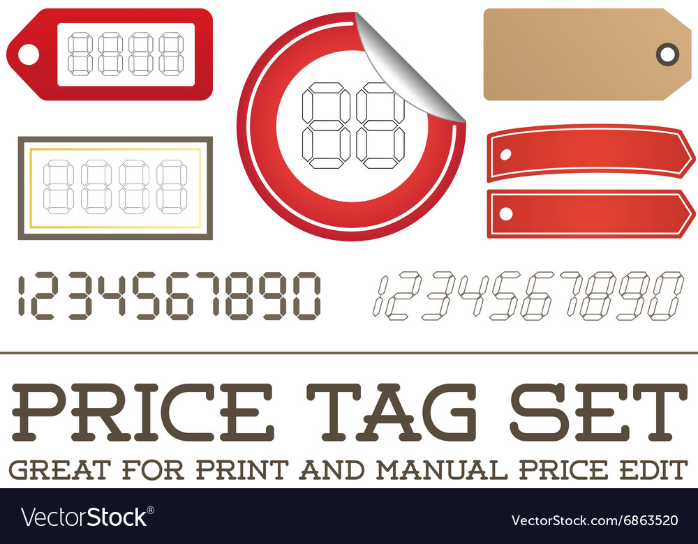 graphic regarding Price Tag Printable called Price tag Tag Mounted permit for print or tutorial charge