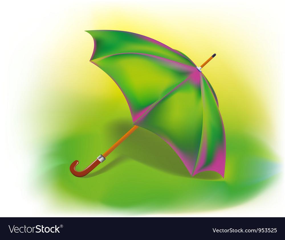 Colorful umbrella Royalty Free Vector Image - VectorStock