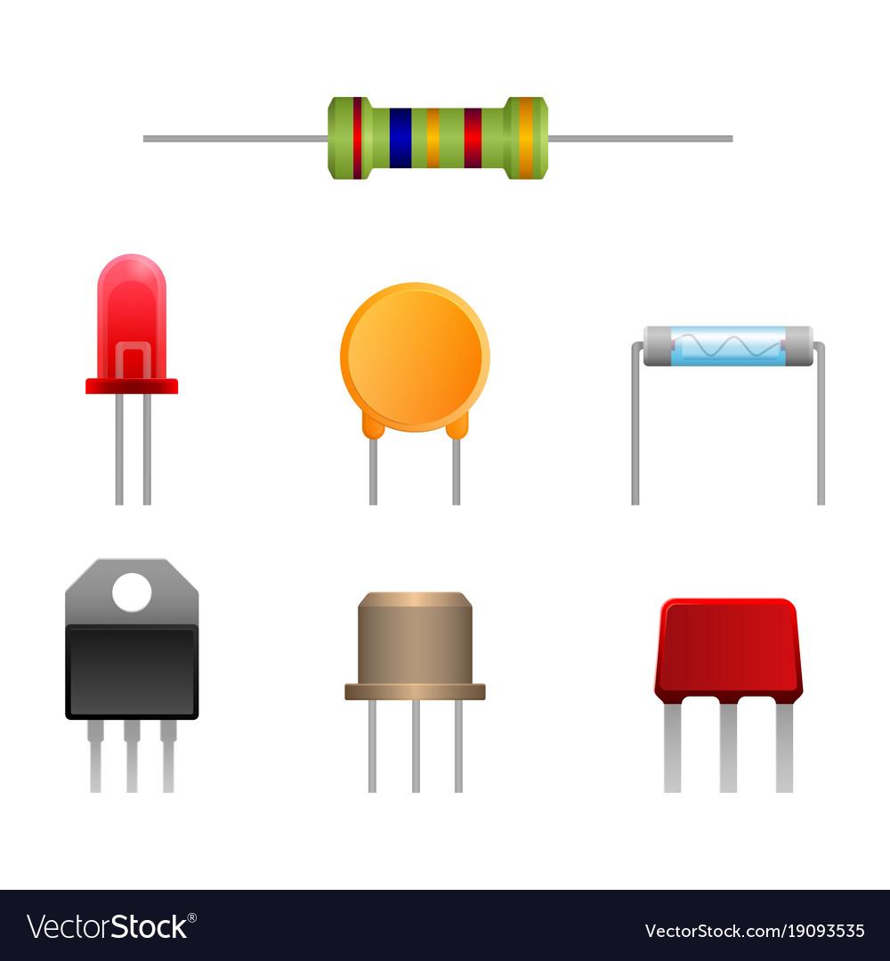 Diode types set two-terminal electronic