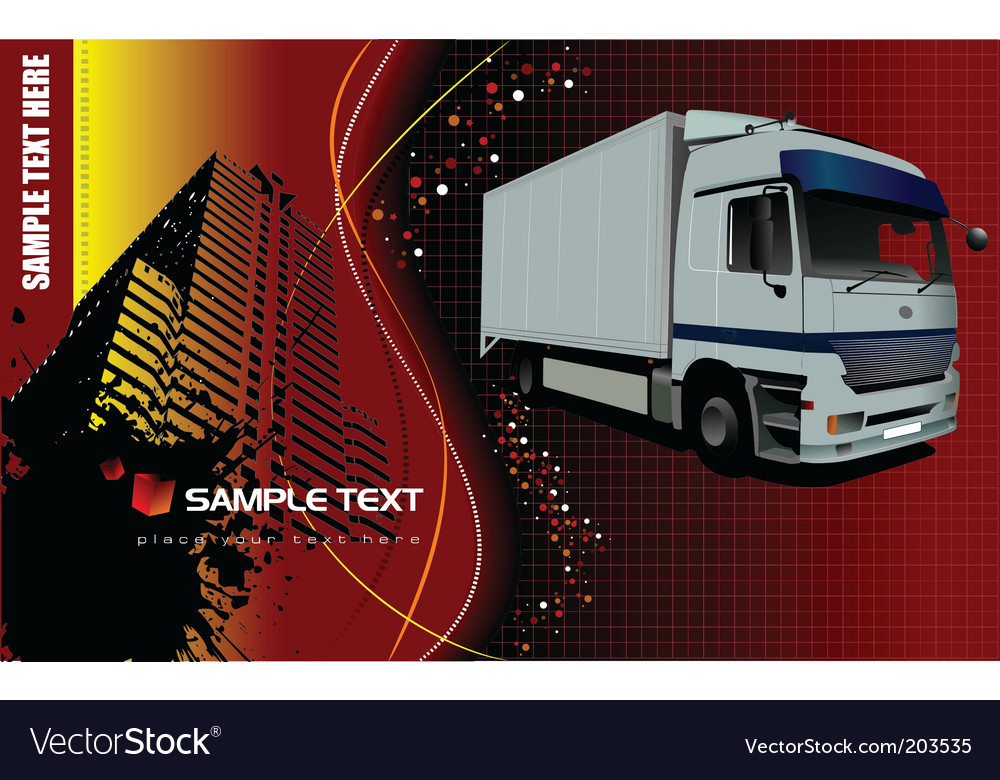 Vehicle template background