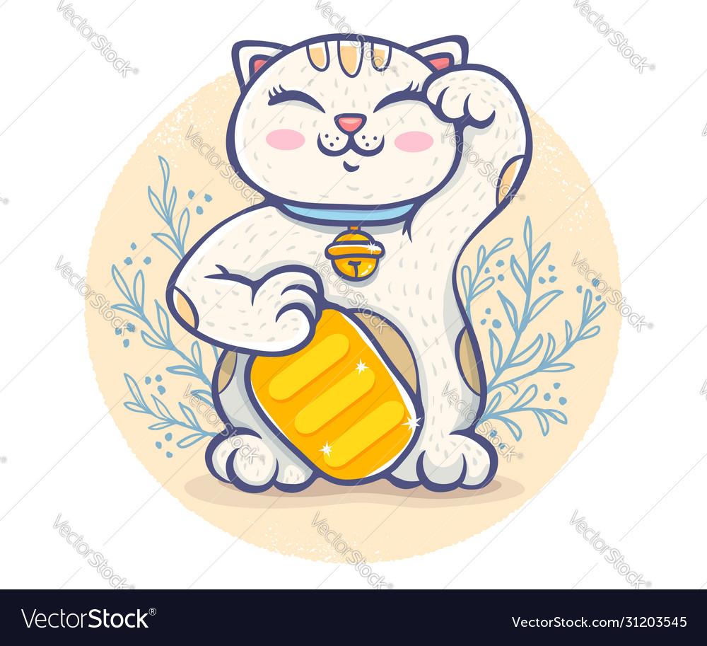 Kawaii lucky cat