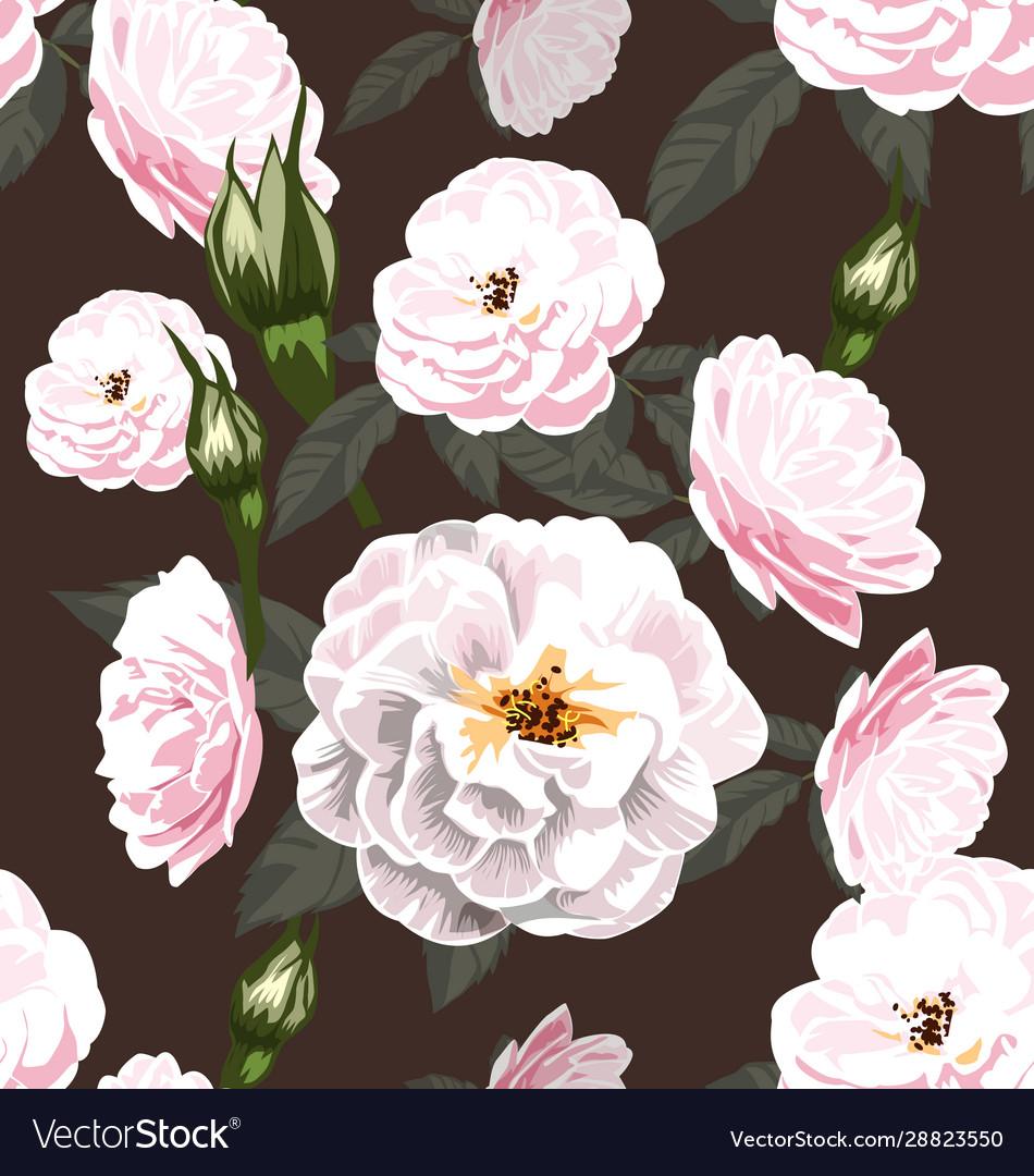 Rose seamless pattern6