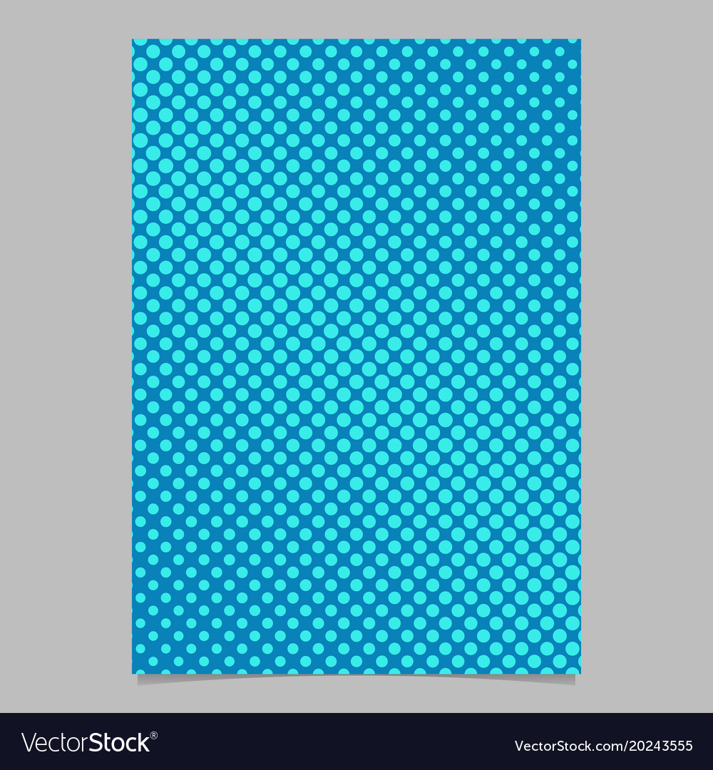 Geometrical halftone circle pattern background