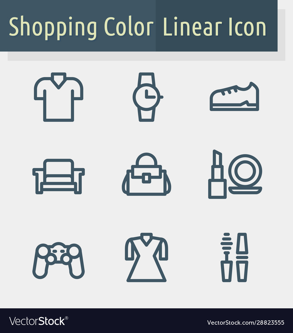 Shoping line icon