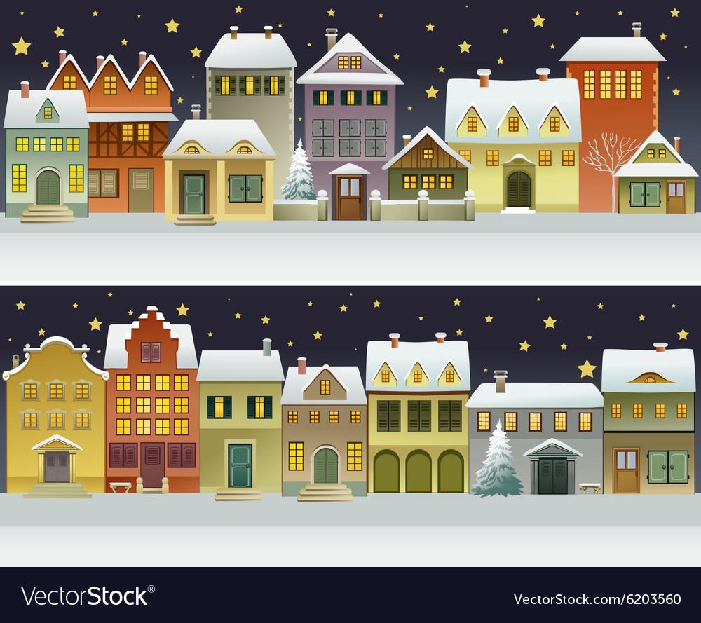 Winter town