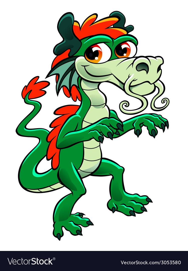 Cute asian dragon