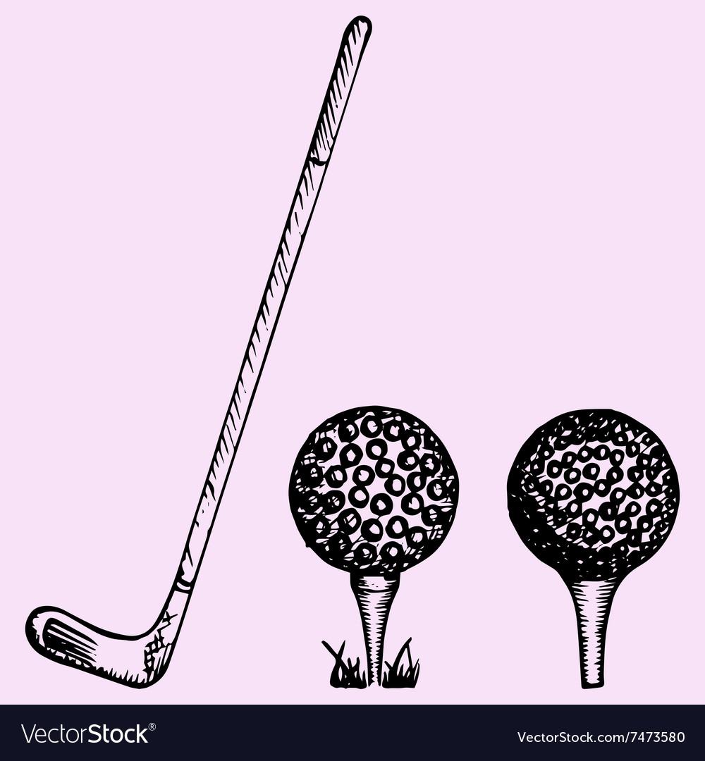 Golf club ball playing