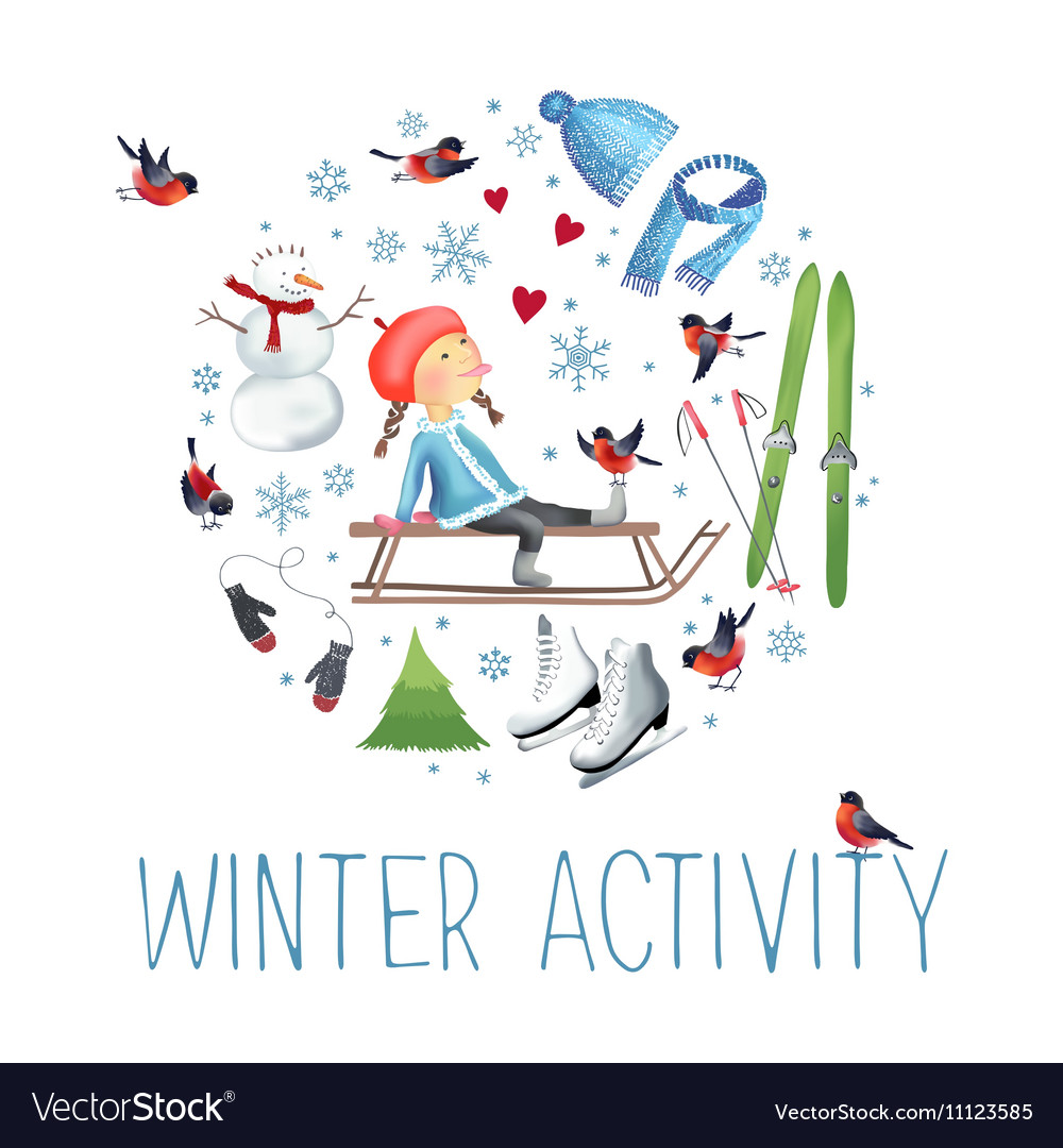About winter outdoor