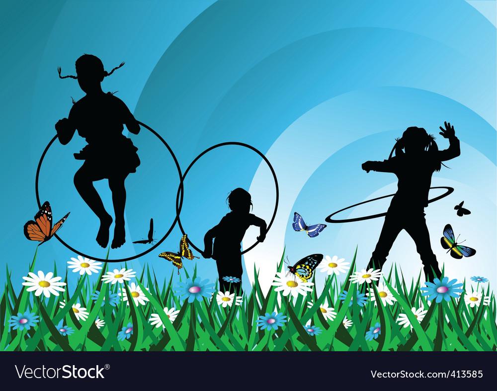 Children meadow