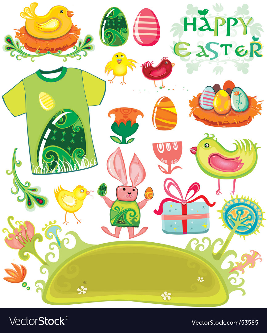 Easter holiday set