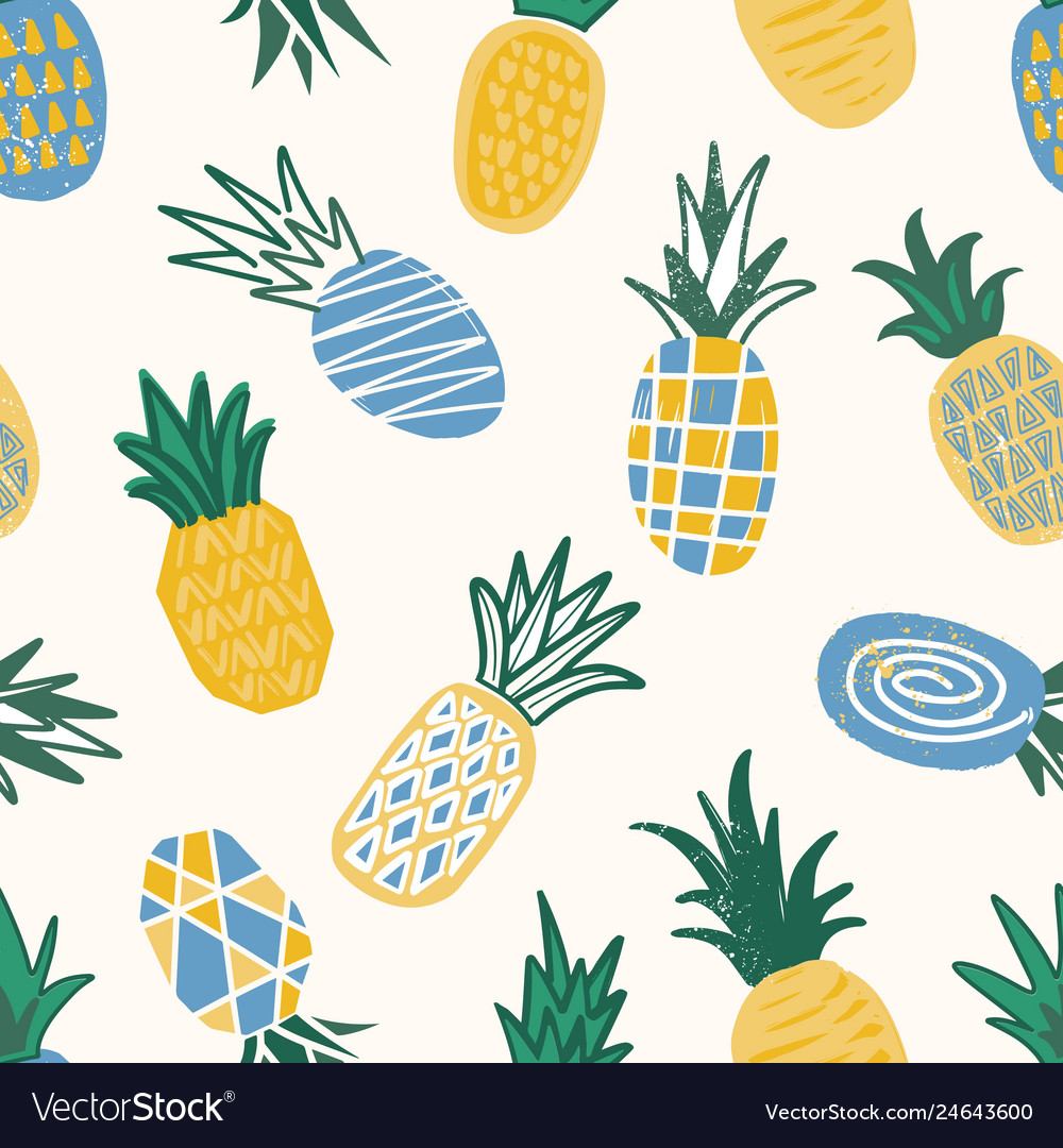 Decorative seamless pattern with textured