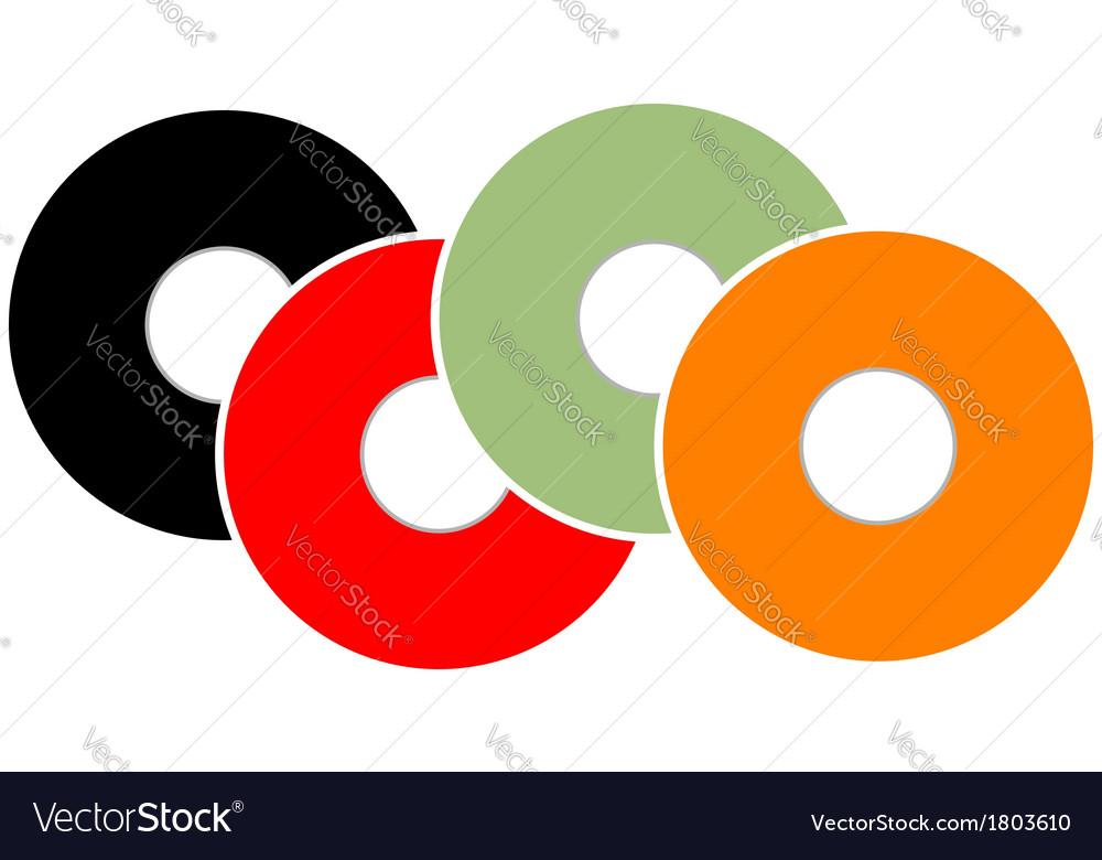Colorful vinyl