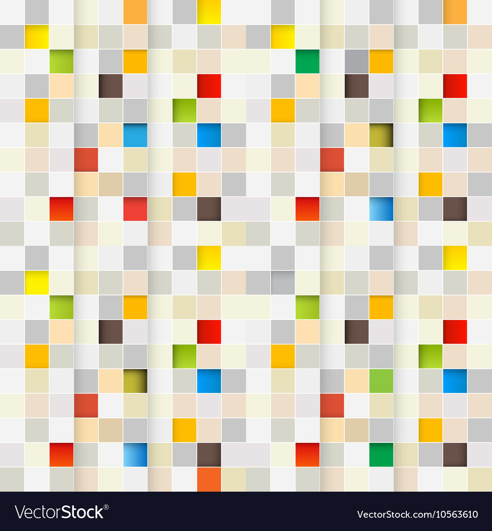 Square Background Seamless Little Squares Pixel