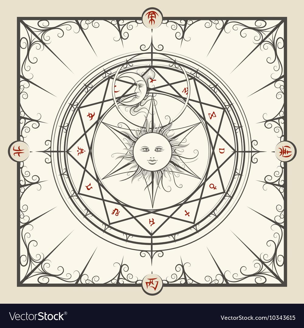Alchemy magic circle