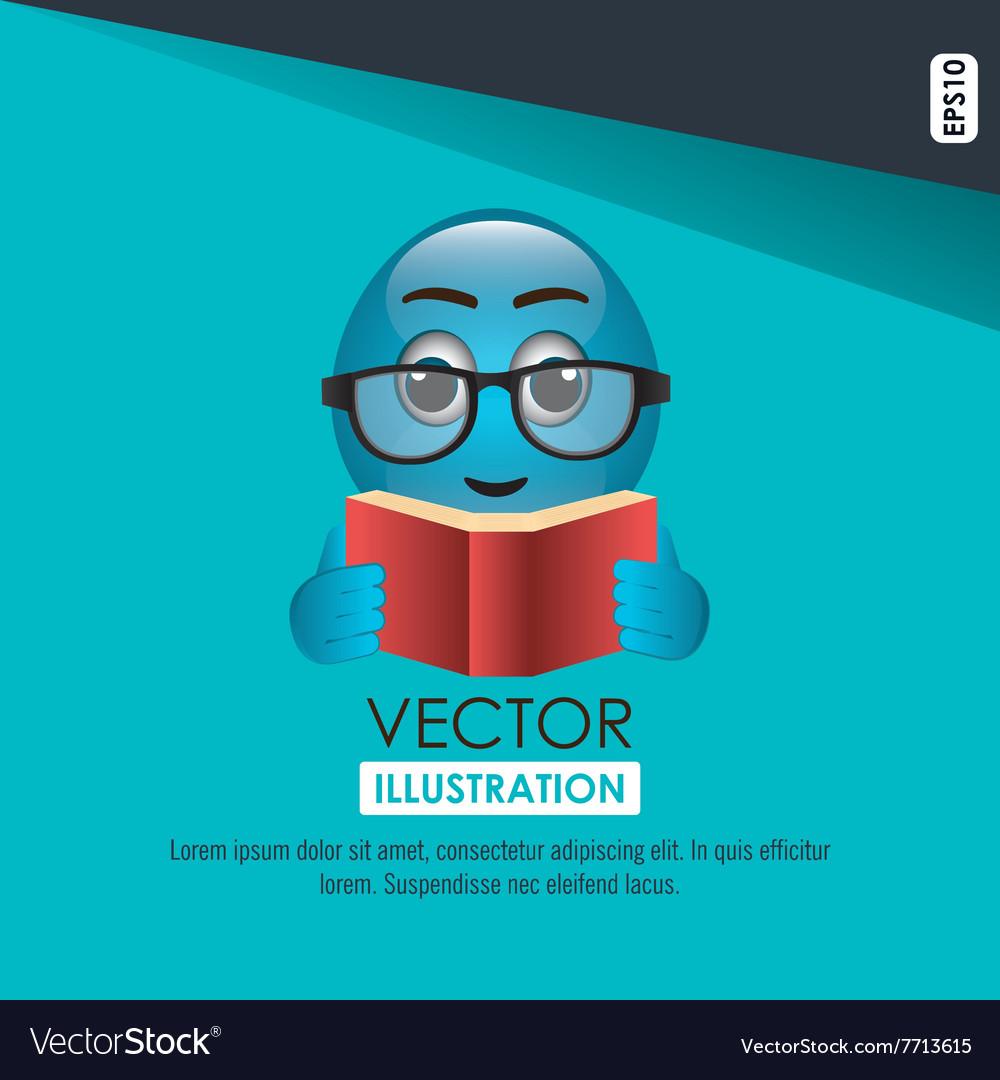 Funny emoticon design