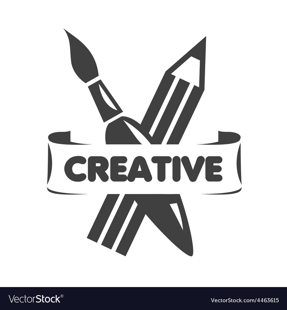 Creativity clipart black and white