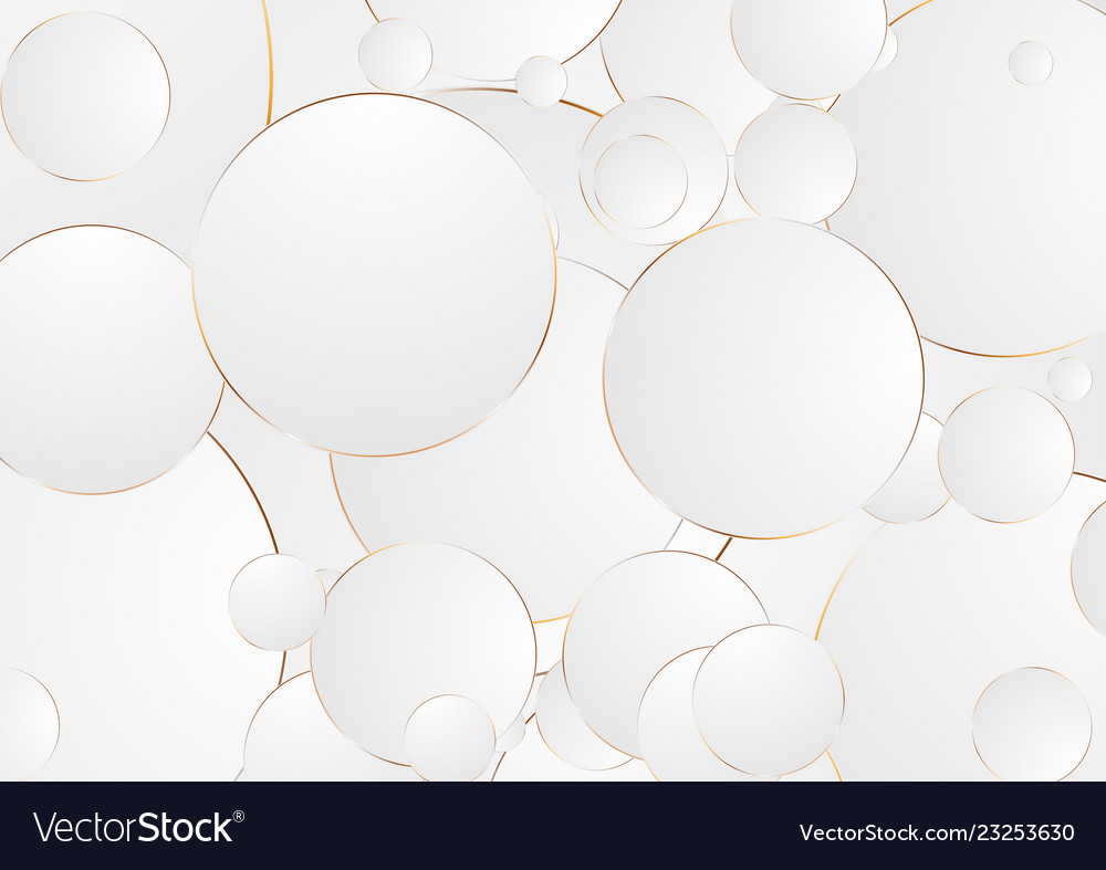 Grey bronze circles abstract corporate background