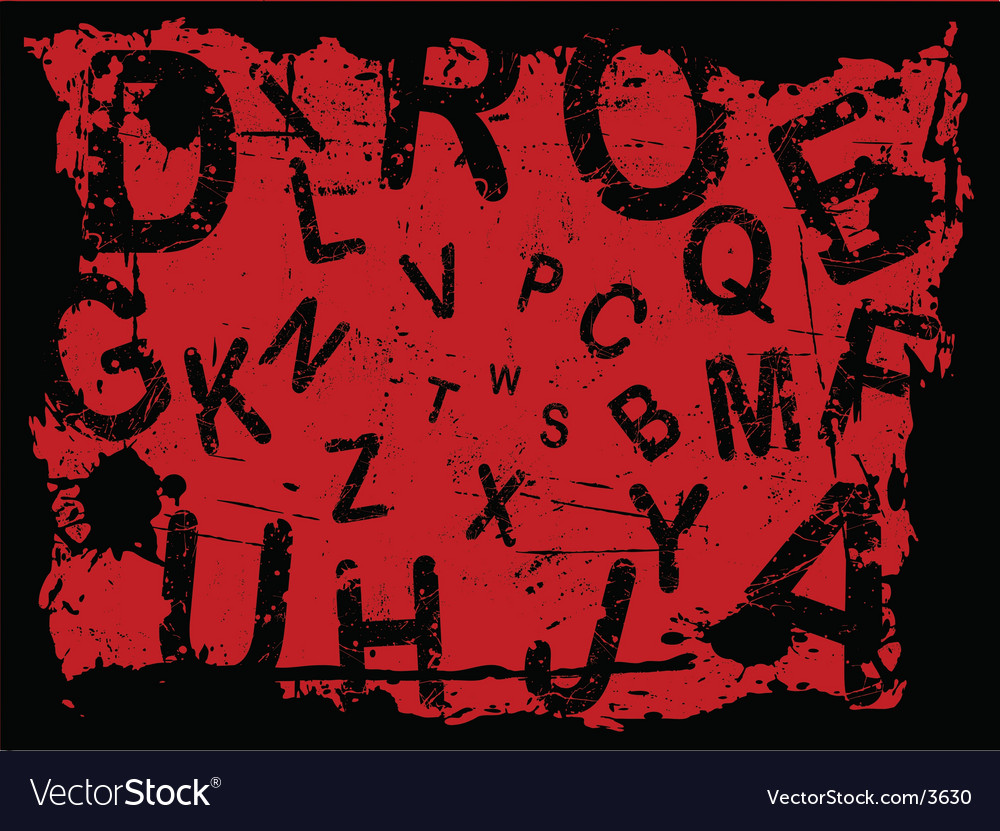 letter background. Grunge Letter Background