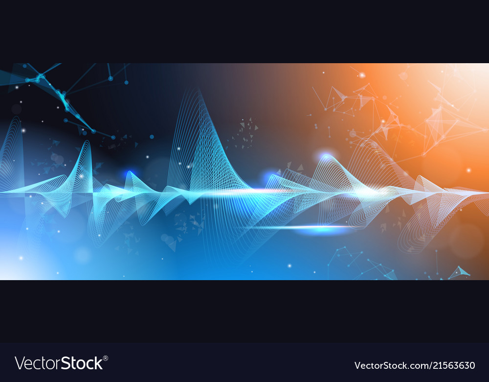 Music waves equalizer musical bar dark background