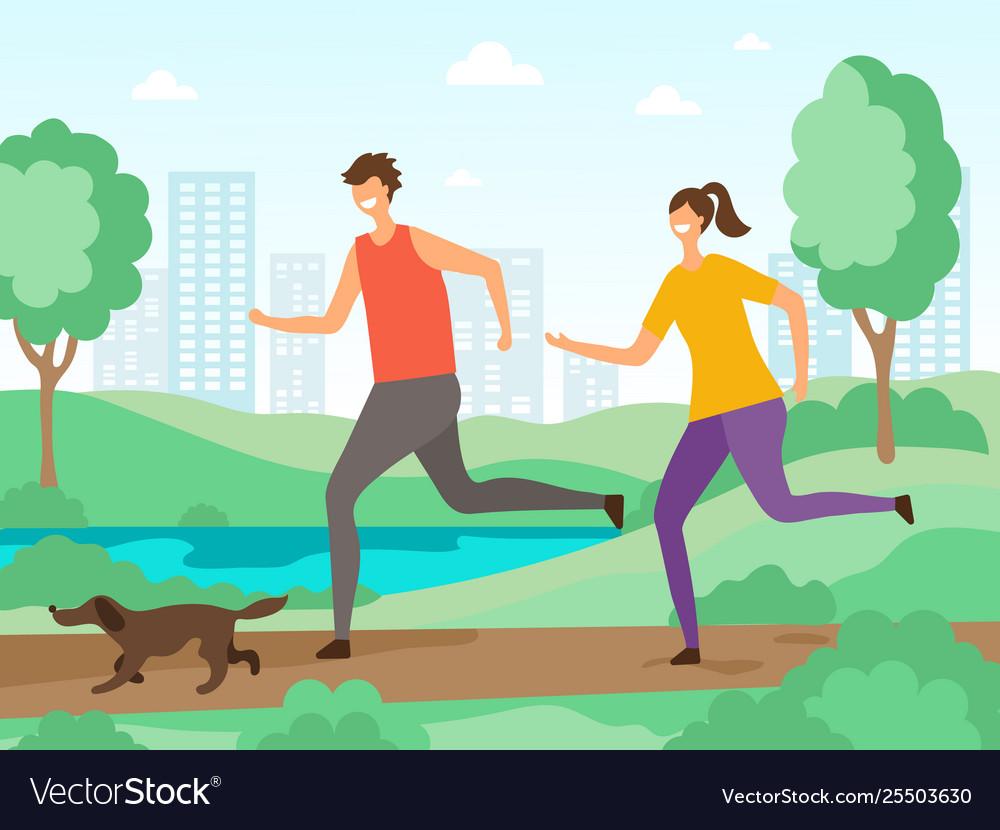 Sport activities background fitness people
