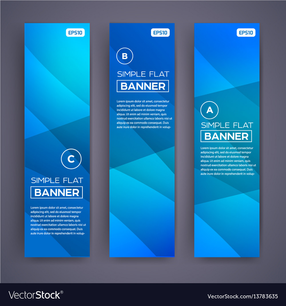 Abstract banners eps10 backgrounds