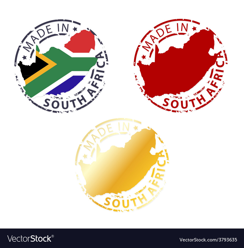 Made in South Africa stamp