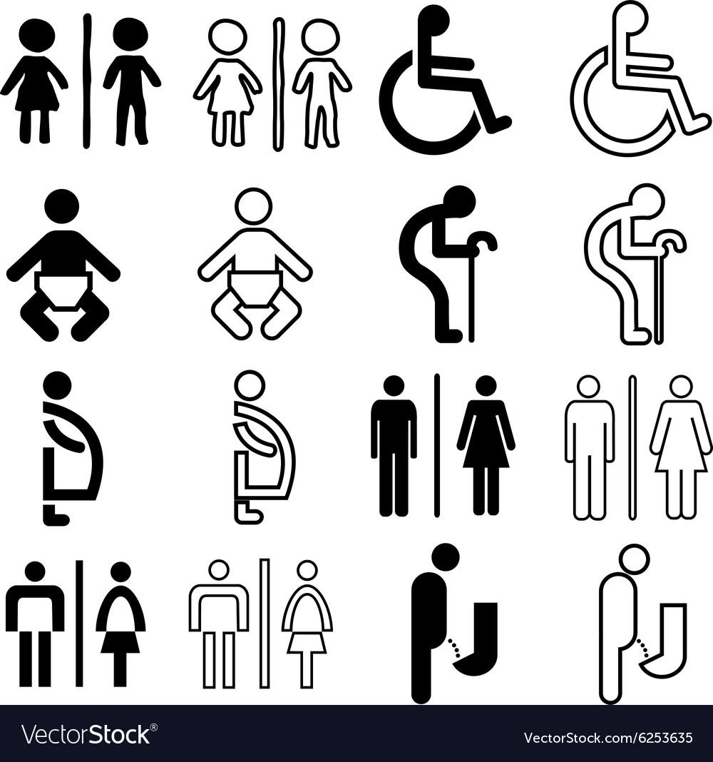 Toilet sign nomal