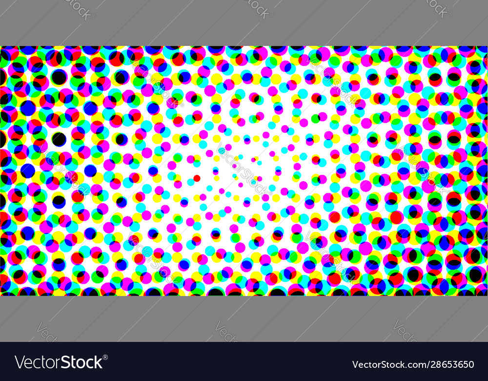 Abstract grunge halftone color dotted background