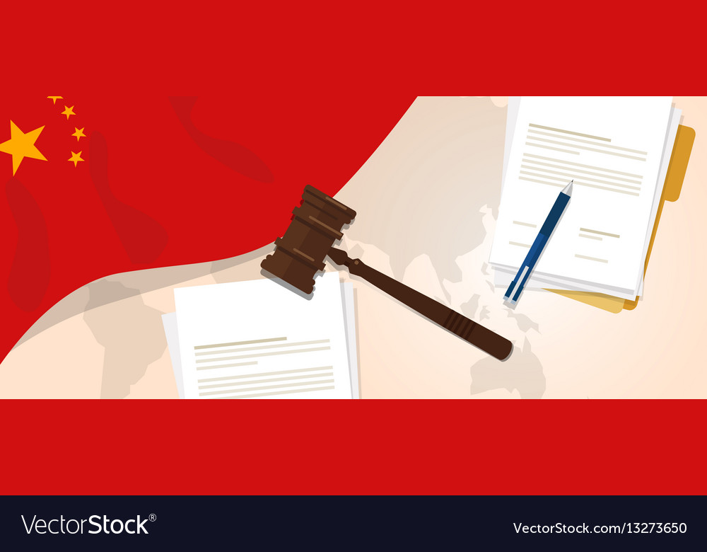 China law constitution legal judgment justice