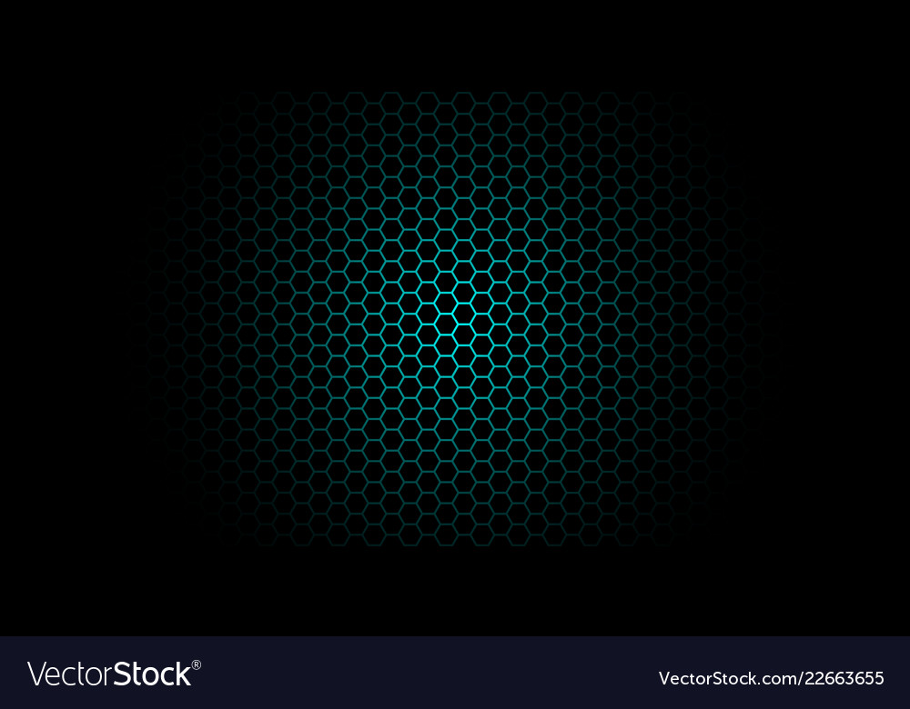 Honeycomb background of geometric hexagons