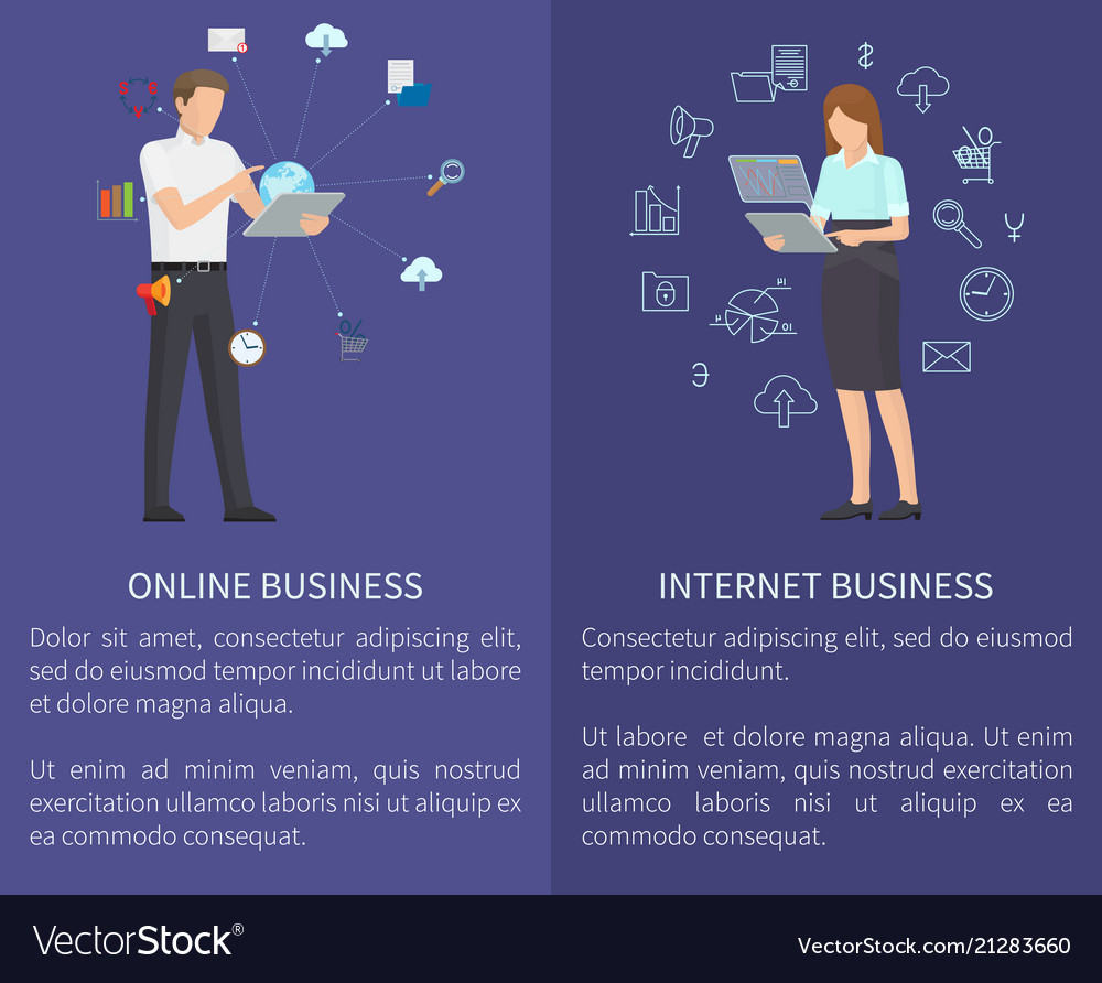 Internet and online business