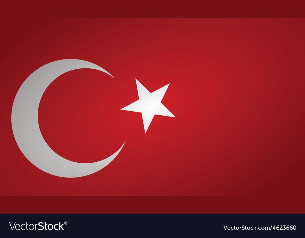 Turkey flag pin