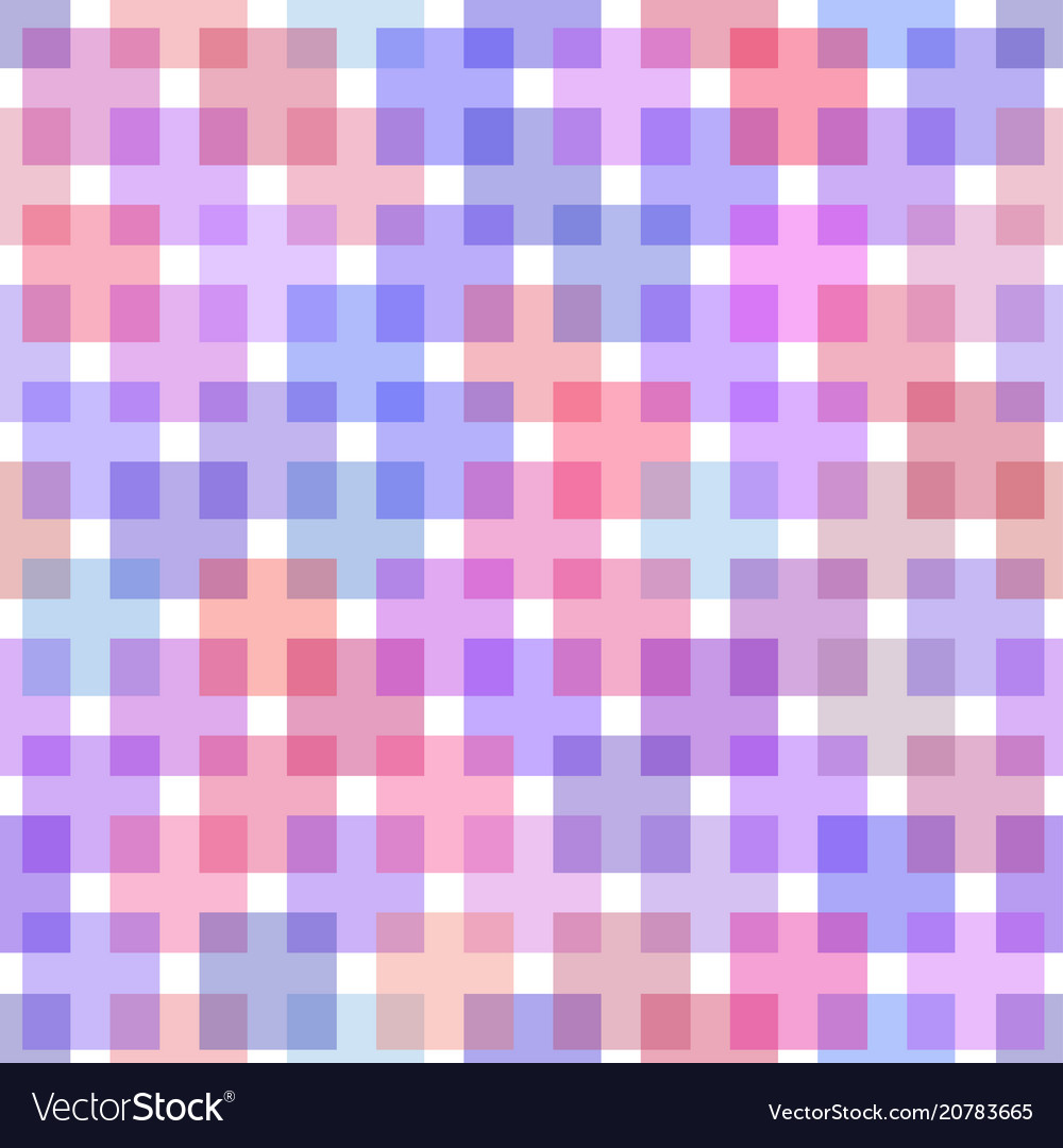 Template of checkered seamless background plaid vector image