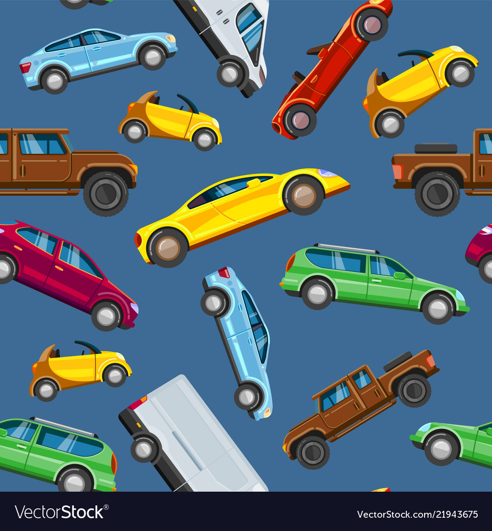 Vehicle collection sealess pattern urban