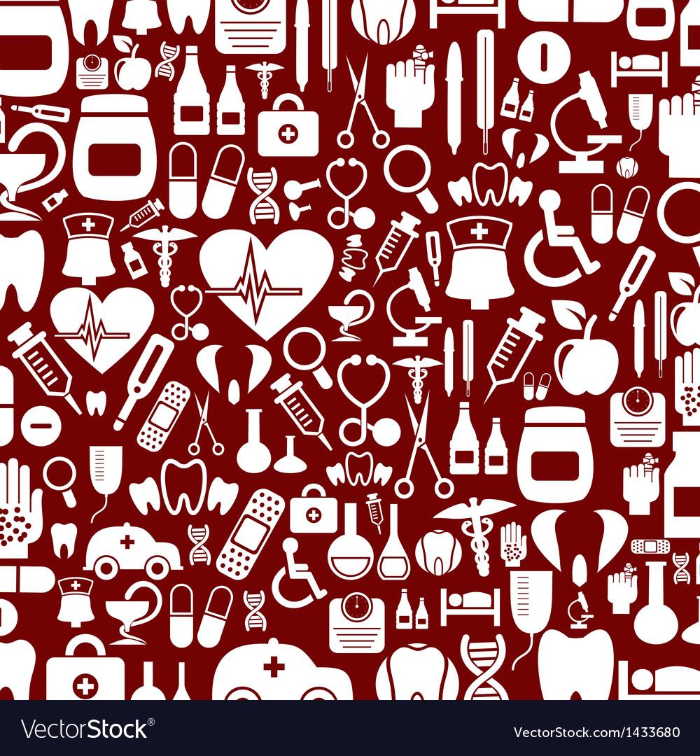 Medical background5 vector image
