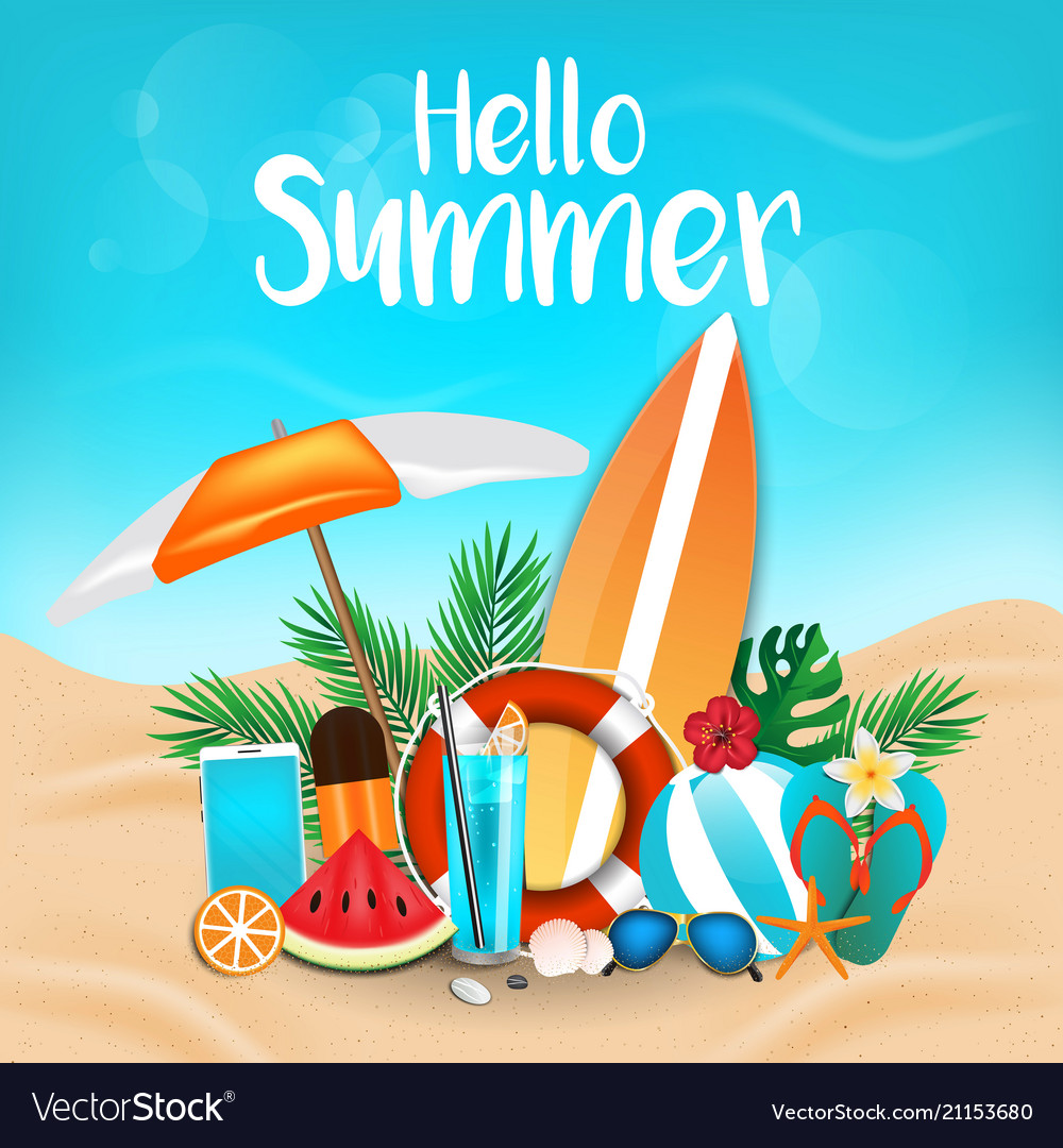Summer background 2018 3