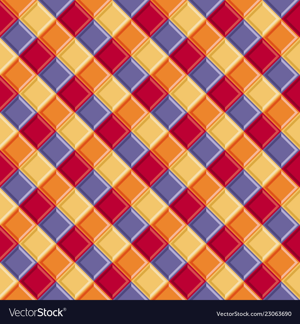 Abstract geometric seamless pattern tile