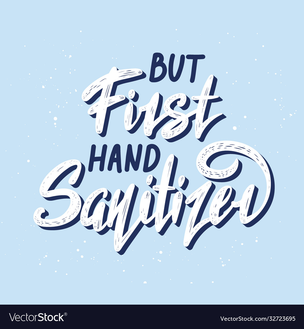 Lettering with quote for posters decoration and t