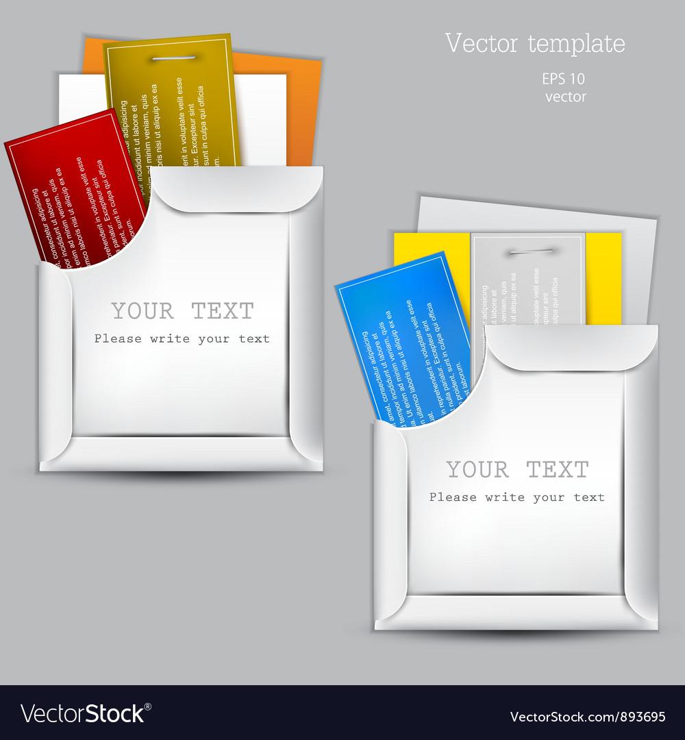Paper sheets envelopes