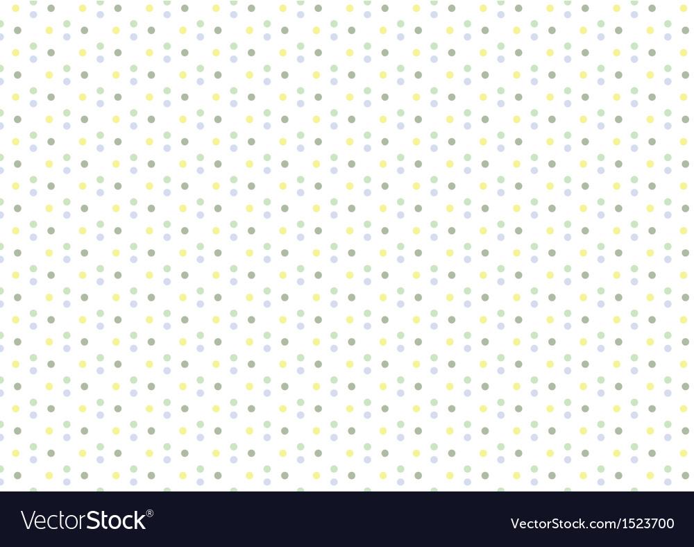 Baby Boy Pastel Polka Dots Seamless Pattern