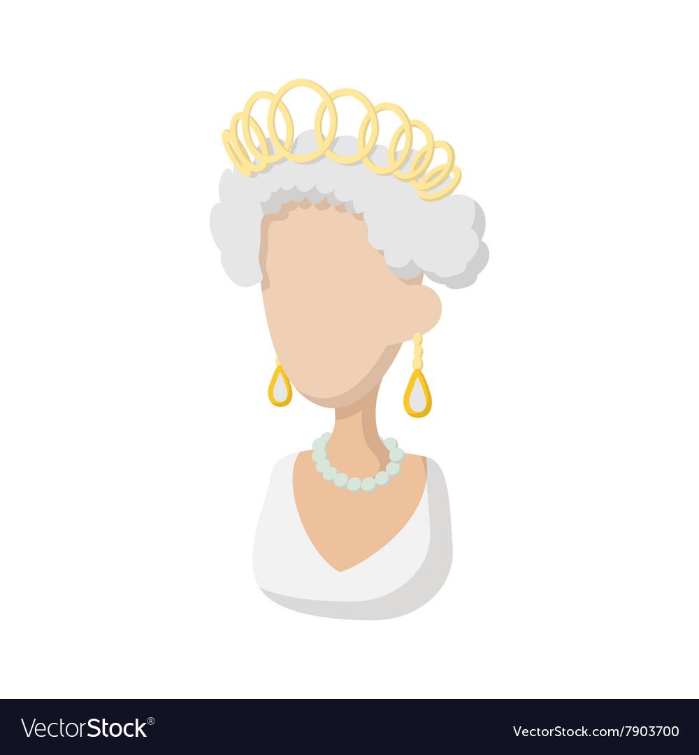 Elizabeth Ii British Queen Icon Cartoon Style Vector Image See more of hm queen elizabeth ii on facebook. vectorstock