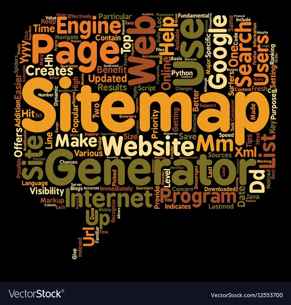 JP generator sitemap 1 text background wordcloud